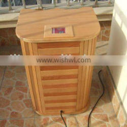 KC approved Far Infrared Foot Sauna with Canadian Hemlock Solid Wood