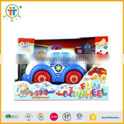 ABS material wholesale cartoon toys vehicle with police car ,ambulance,fire engine