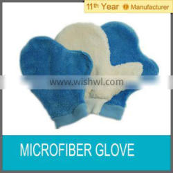 Microfiber cleaning glove/car cleaning/kitchen glove