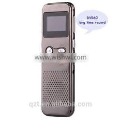 usb mini voice recorder Professional Voice digital Audio Recorder with LCD Display with card slot long time recording 20pc