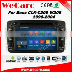 Wecaro WC-MB7507 Android 5.1.1 car dvd player For Benz CLK C209 W209 gps navigation 1998-2004 radio multimedia wifi 3g