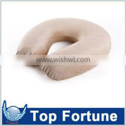 Private label OEM durable 100% cotton Folding hotel/outdoor pillow