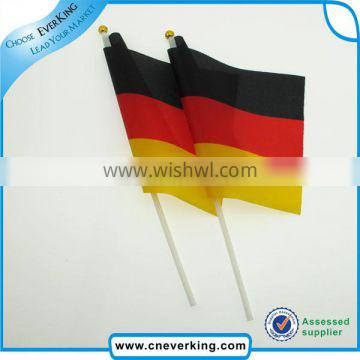 2017 popular promotioal mini waving national country flags
