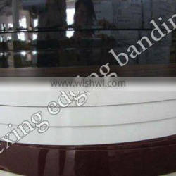 high gloss and transparent ABS edge banding