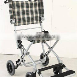 Traveling wheel chair for sick child