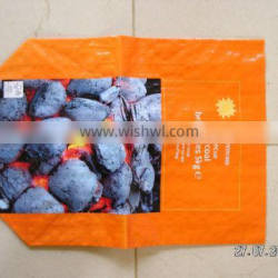 Best quality bopp laminated pp bag for charcoal packing
