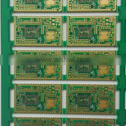 hasl 1.6mm board thickness oem immersion gold printed circuit board