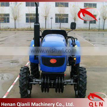 QLN354 35hp 4wd beautiful wheel tractor from china with kinds of farm equipments