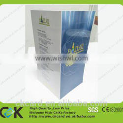 A3/A4/A5/A6 paper brochure product operation instruction