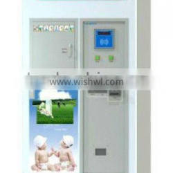 automatic milk vending machine with card reader & coin receiver for sale