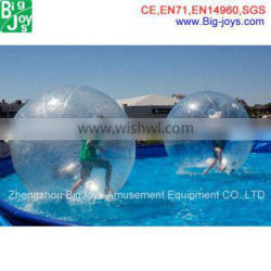 Kids favorable water bounce ball with customized size