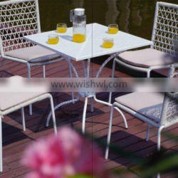 2016 new design of the bamboo/teak wood dining table and chair
