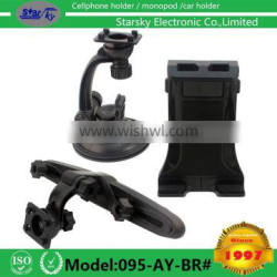 095-AY-BR# TABLET PC car holder 2in1 kit for windshiled and backseat both car phone holder