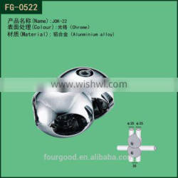 widely use metal dia25 tube connector jok
