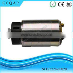 Hot selling 12 auto electric car parts japanese quality denso fuel pump for Toyota Hilux Yaris 23220-0P020