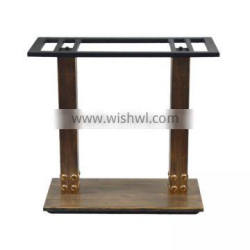 CH-RB025 Table base, furniture leg, wrought iron rectangular table bases