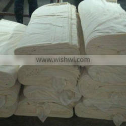 90 polyester 10 cotton woven grey fabric exporter in china