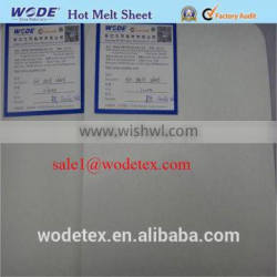 Double sides hot melt glue toe puff shoe material toe puff and counter