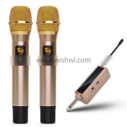 Rechargeable UHF Wireless Handheld Microphone