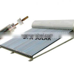 rooftop mounted pressurized solar water geyser