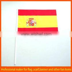 Spain National Hand held shaking Flags