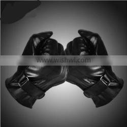 top Winter glove leather