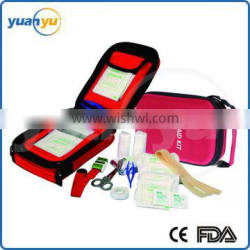 2016 hot sale wholesale promotional EVA outdoors car home emergency first aid kit