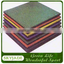 40mm Thick Gray Rubber Floor Tile