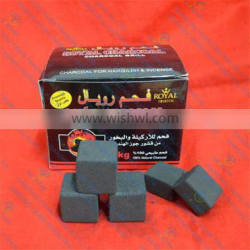 Cubic 2.5*2.5*1.5cm market for hardwood charcoal buyers