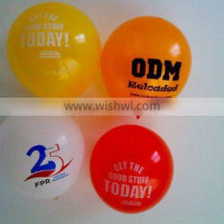 promotional latex balloon for advertisement