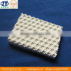 Infrared cordierite honeycomb ceramic plate for BBQ