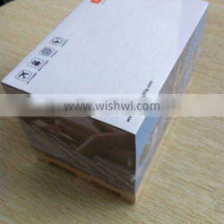 Office wooden pallet paper sticky memo pad cube note