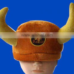 Fancy party Furry carnival Viking Hat with customer logo