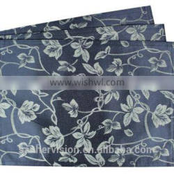 Hot Sale 100% Polyester Fabric Printed Placemat