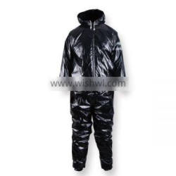 High quality polyester adult sauna suits