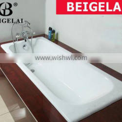builted in enameled cast iron tub of BGL-01