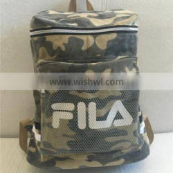 Fashion cool camouflage backpack for famous brand