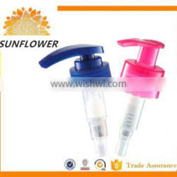 2016 plastic hand switch lotion pump for bottle