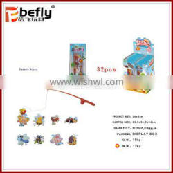 Fishing game insect animal best gifts diy puzzle toys for kids