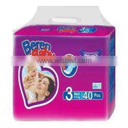 High Quality Beren Baby diapers from Turkish Manufacturer