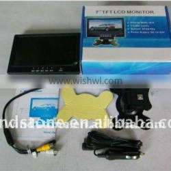 """Video Parking Sensors With 7"""" Display Standalone Monitor"""