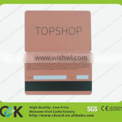 CR80 size contactless chip card/nfc smart card/printing emv chip card