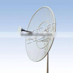 500MHz 14.5dBi Grid Parabolic Antenna for Long Distance Trunking System