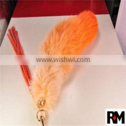 FACTORY WHOLESALE REAL FUR KEYCHAIN