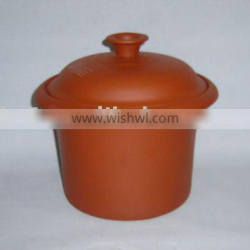 Stoneware red clay pot for Slow cooker(cooker,inner pot)