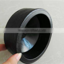 HDPE straight hdpe pipe fitting couplers equal or reducing