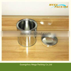 400ml metal material tin can tin box for paint/glue/chemical use