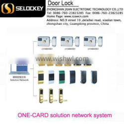 One-Card lock network solution system for resort