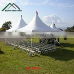 3x3m High Quality chinese PVC pagoda tent for sale