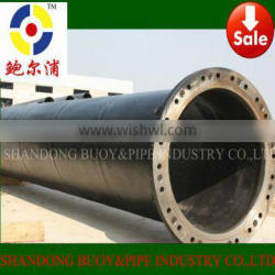 Large Diameter UHMWPE Pipe with Flanging Connection